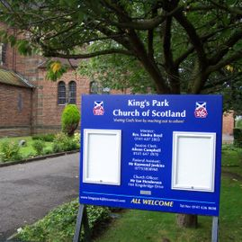 Church noticeboards, church noticeboards with poster cases.