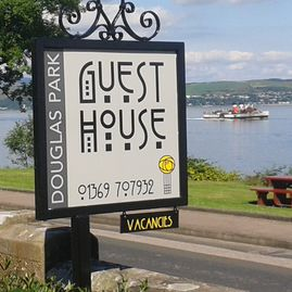 Guest house signs, B&B signs, illuminated B&B signs, illuminated guest house signs.